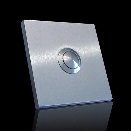 Mailbox design Sonnette carrée Type 360 - 60 x 60 mm