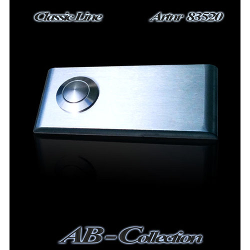 Mailbox design Doorbell Rectangle -  Type 520 - 82 x 35 mm