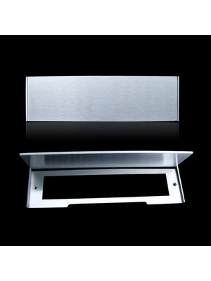 Mailbox design Inox RVS brievenbusklep - Type 617
