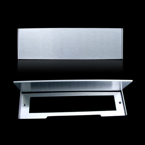 Mailbox design Inox RVS brievenbusklep - Type 617