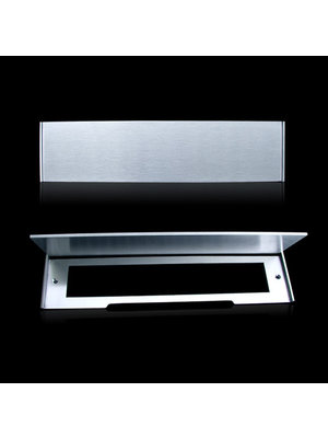 Mailbox design Inox RVS brievenbusklep - Type 618