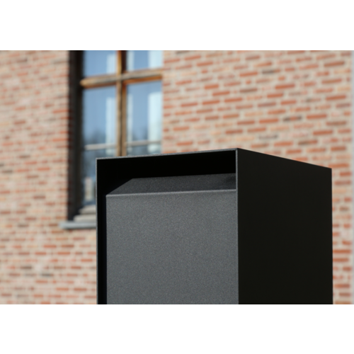 eSafe Parcel Box eSafe Nexus with code lock in black RAL 9005