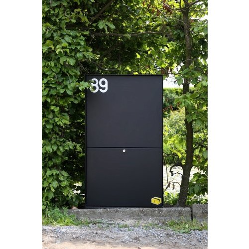 eSafe Parcel box - eSafe Dropbox Medium  - Black