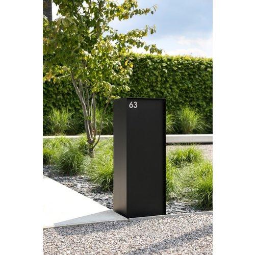 eSafe Parcel Box eSafe Dropbox  Small - Black RAL 9005