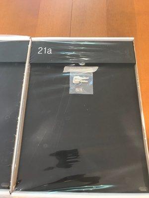 Albo TOPA 530 Boîte aux lettres  - Avec gravure