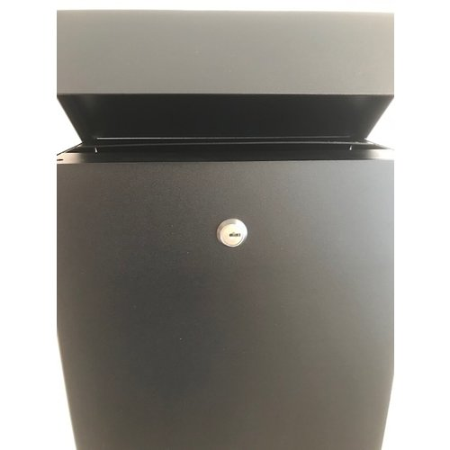 Albo Letterbox Albo TOPA 530 in aluminium - RAL Color of your choice - With engraving of house number