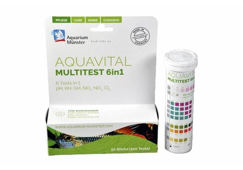 Aquarium Münster Aquavital multitest 6in1