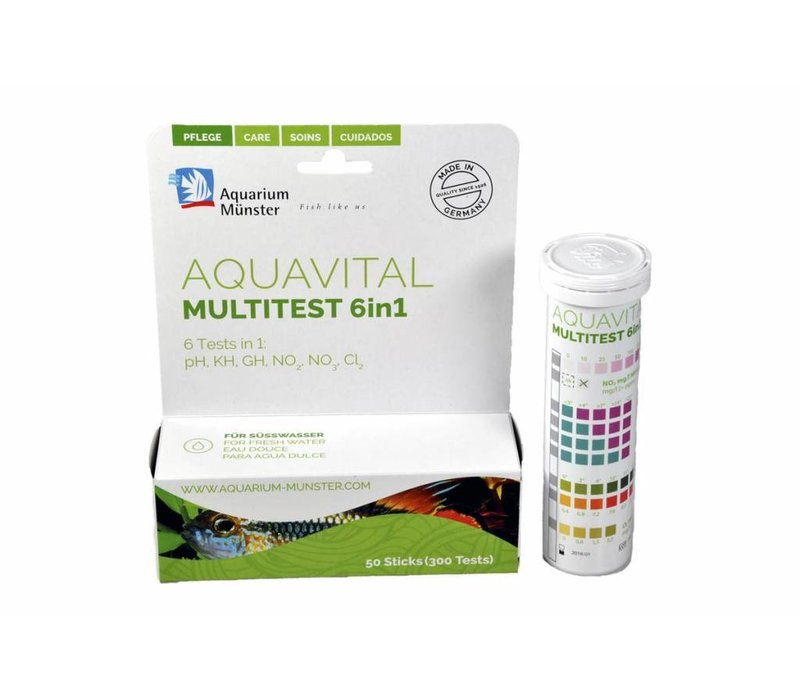 Aquavital multitest 6in1 (50 tests)