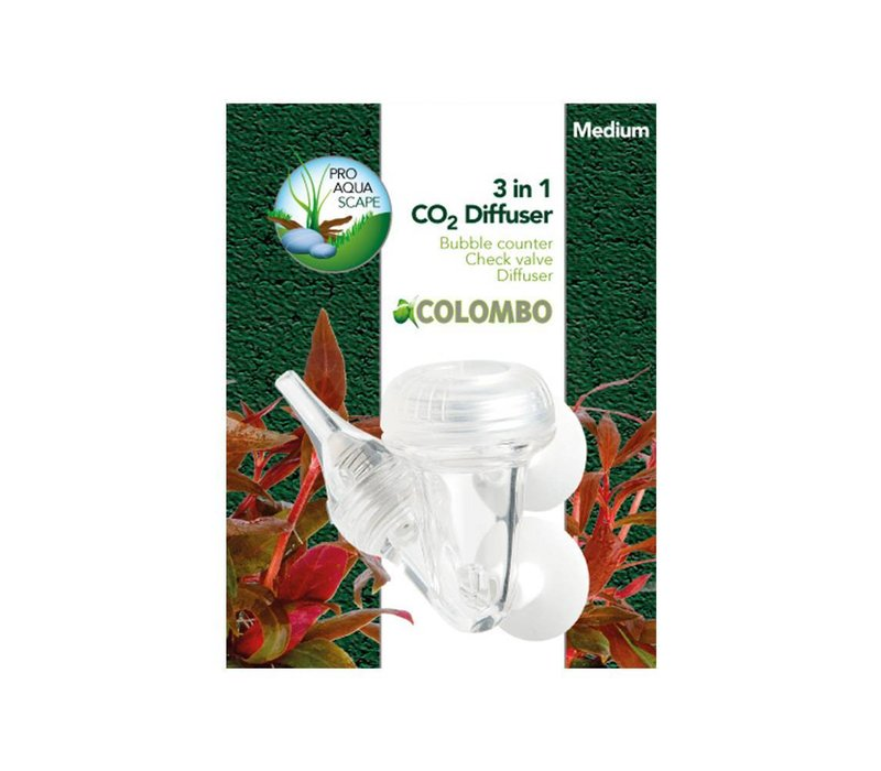 Colombo 3-in-1 Co2 Diffuser