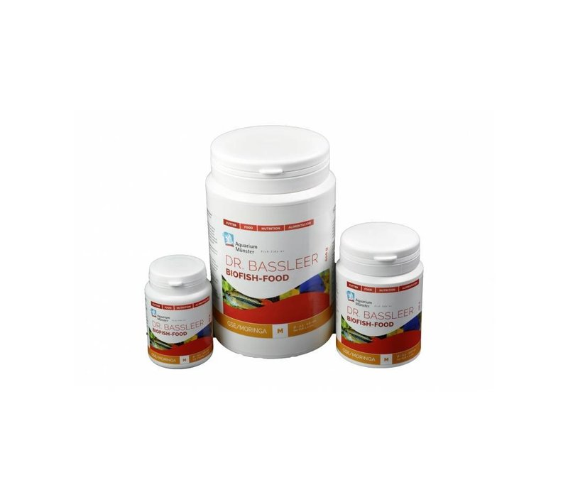 Dr. Bassleer Biofish Food GSE/Moringa