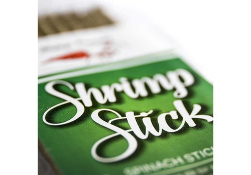 Shrimps Forever Shrimp stick / lolly spinach