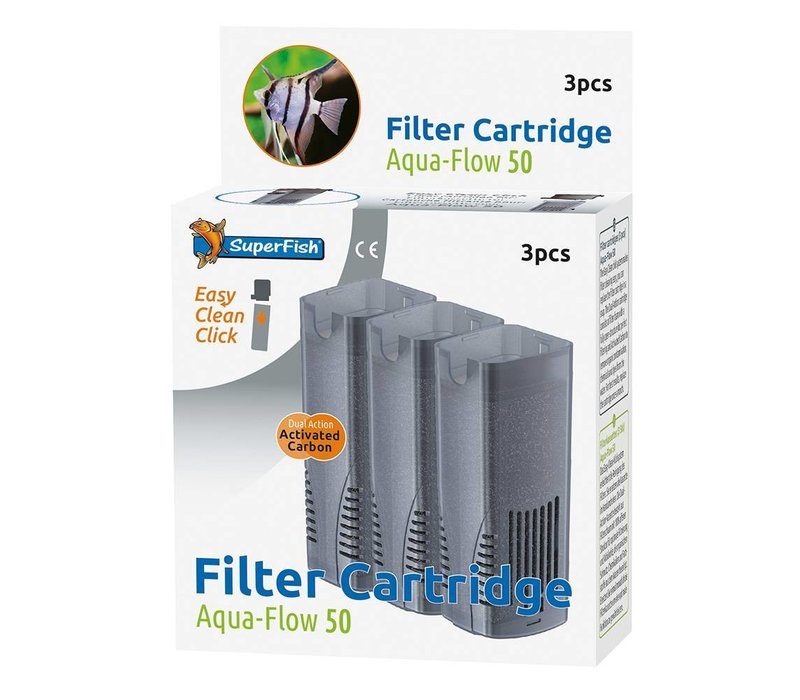 Superfish Aqua-Flow Filter Replacement Cartridge