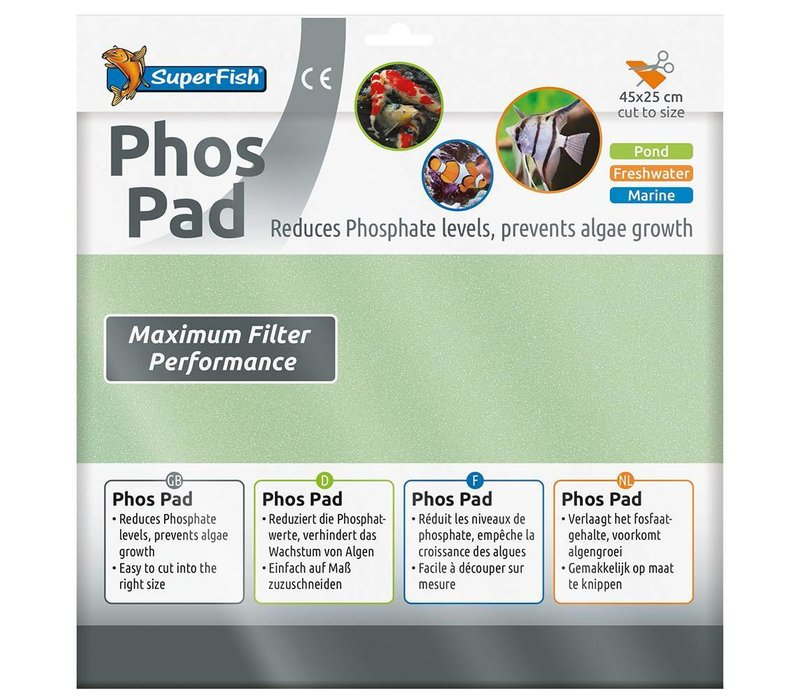 Superfish Phos Pad 45 x 25 cm