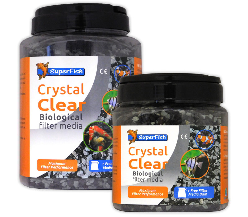 Superfish Crystal Clear Media