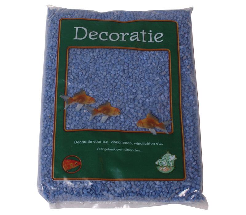Gravel Light Blue - 1 kg bag