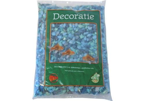 Glitter Gravel Mix Blue