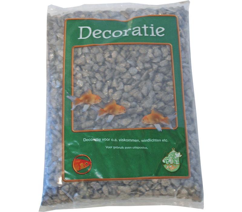 Glitter Gravel Grey - 1kg Bag
