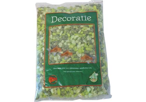 Glitter Gravel Mix Green