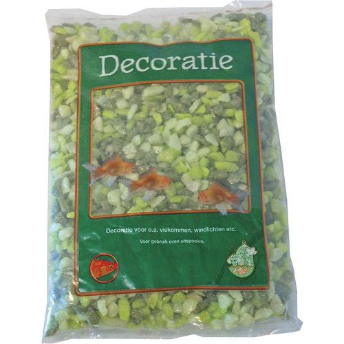 Glitter Gravel Mix Groen