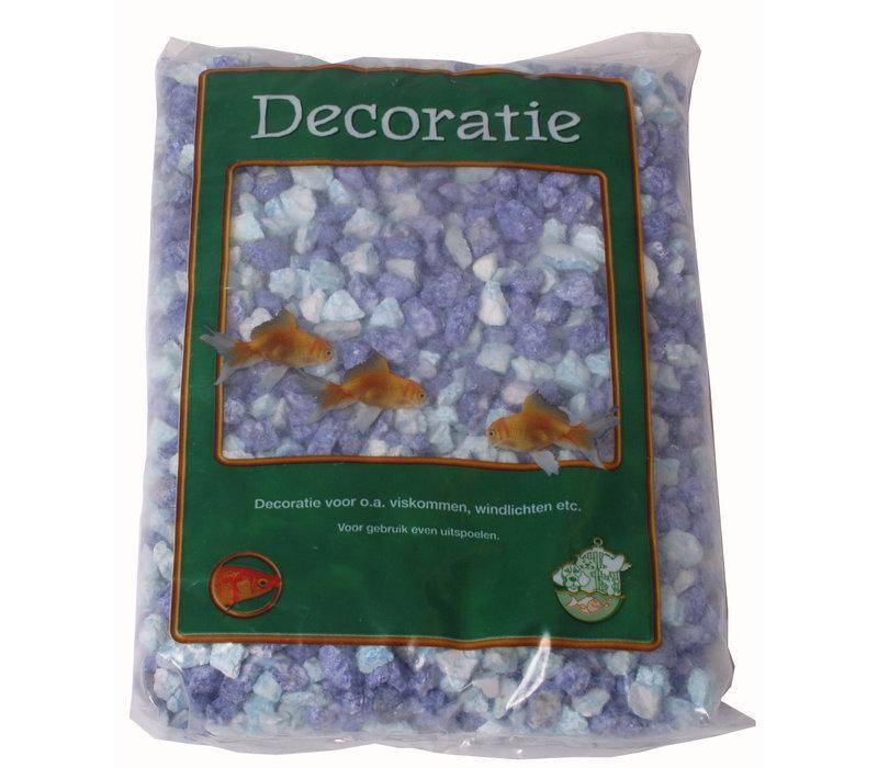 Gravel Split Mix Blue - 1kg Bag