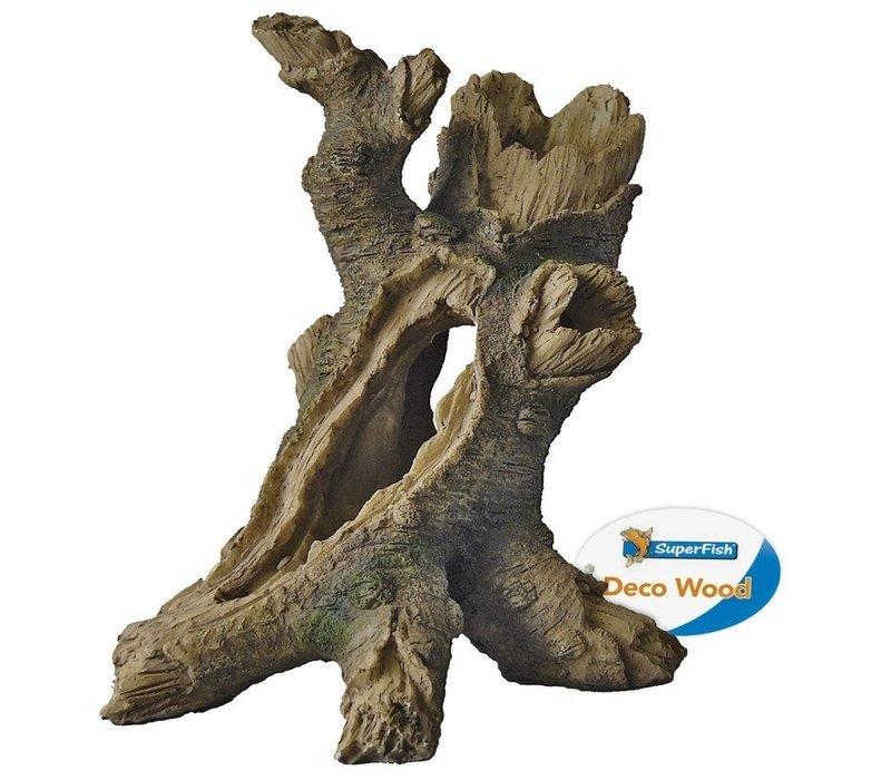Superfish Deco Tree Stump Medium