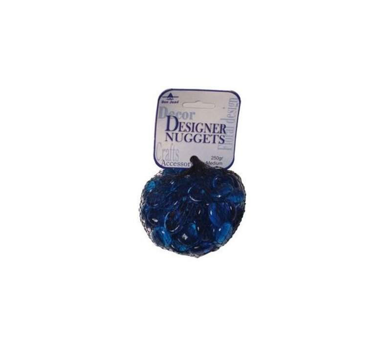 Nuggets - Kristal Blauw