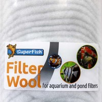 Superfish Filter Floss - White
