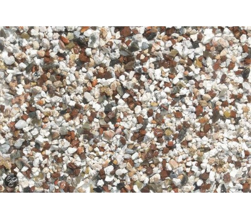 Gravel Brown/White - 8 kg