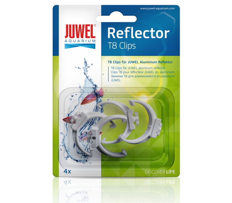 Juwel Reflector Clip T8 (4 Pieces)