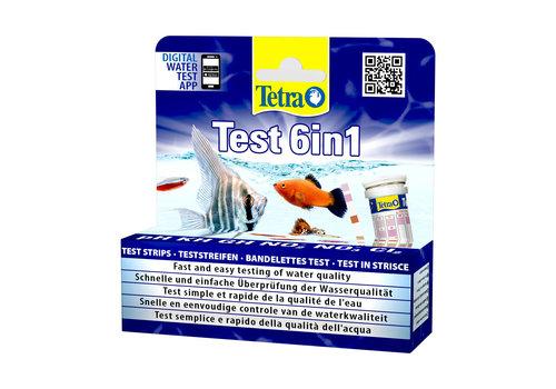 Tetra Teststrook 6 in 1