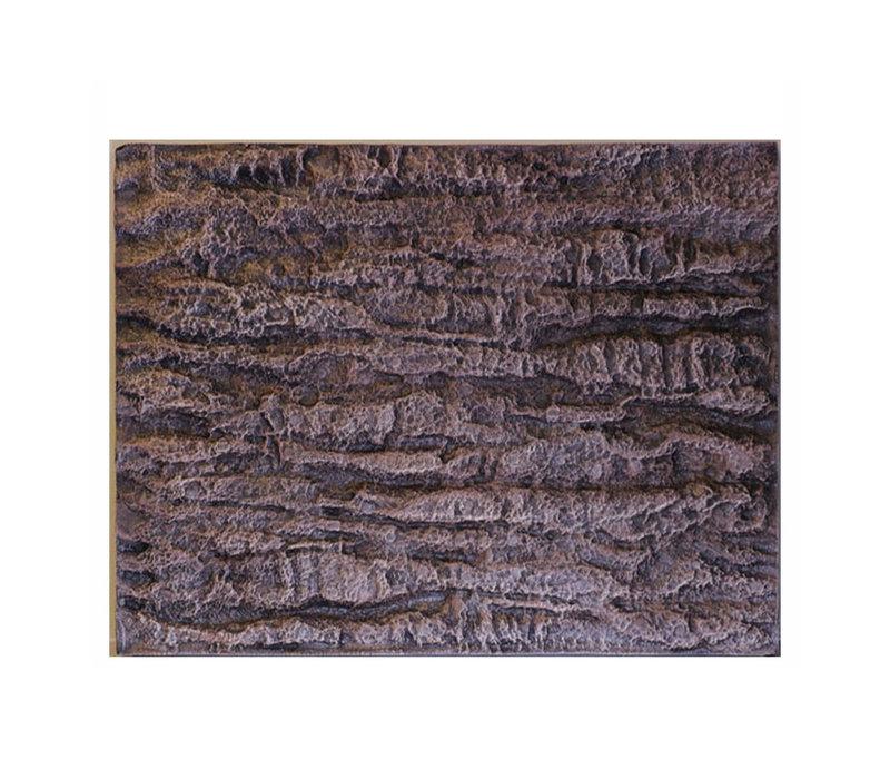 Aqua Foam Background Rock - Bruin (60x45x3 cm)