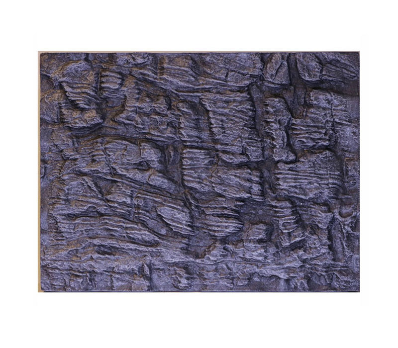 Aqua Foam Background Granite - Grijs (60x45x3 cm)