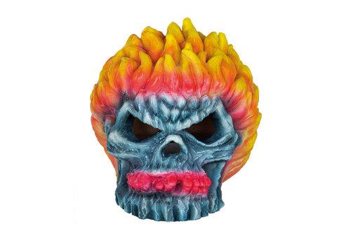Deco LED Monster Fire Skull