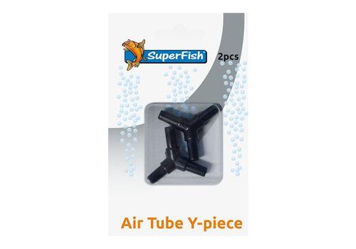 Air Hose Y Connector - 2 Pieces