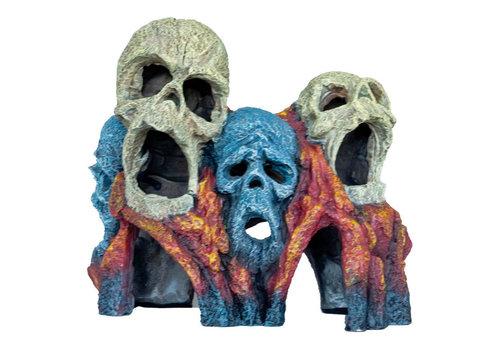 Deco Tiki Skull