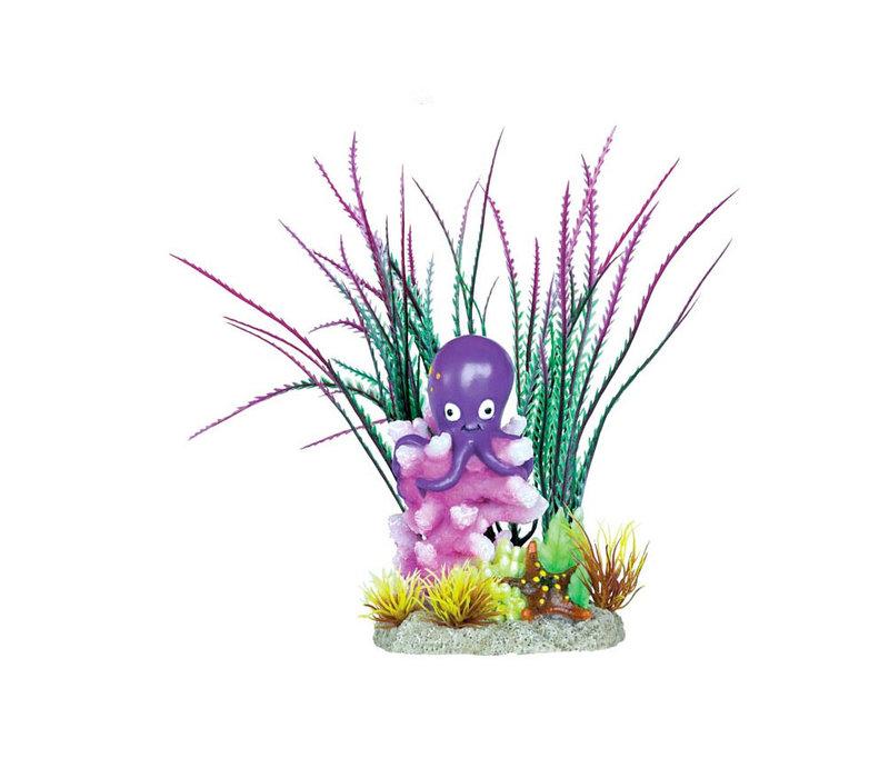 Superfish Deco Garden Octopus