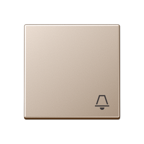 JUNG schakelwip bel-symbool A-range champagne (A 590 K CH)