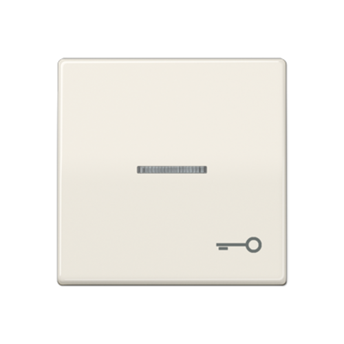 JUNG schakelwip sleutel-symbool controlevenster creme (AS 591 KO5T)