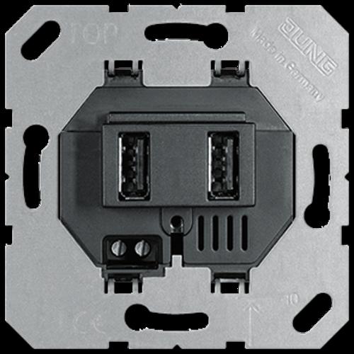 JUNG USB wandcontactdoos