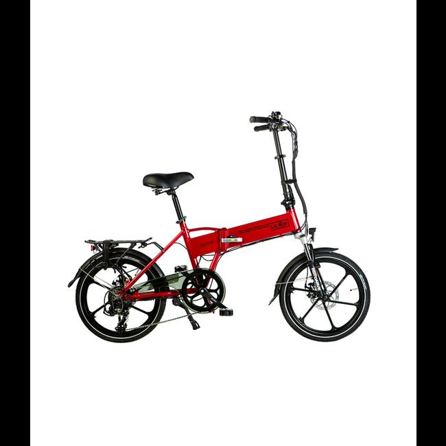 Vélo pliant électrique Trotter T400 - Rouge Mat