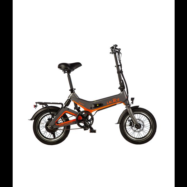 Electric folding bike Lacros Gemini G200 - Matt Gray