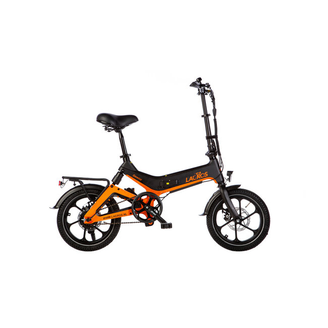 Elektrisches Faltrad Lacros Gemini G400 - Matt Schwarz