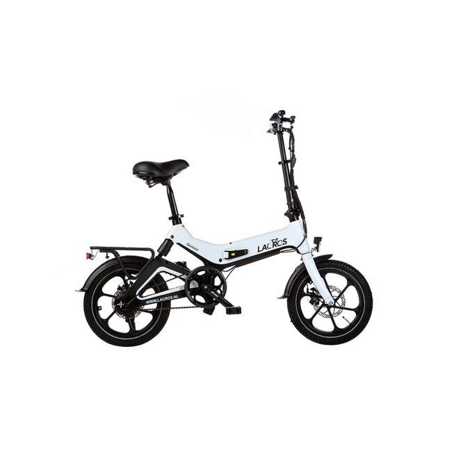 Elektrisches Faltrad Lacros Gemini G400 - Matt Weiß