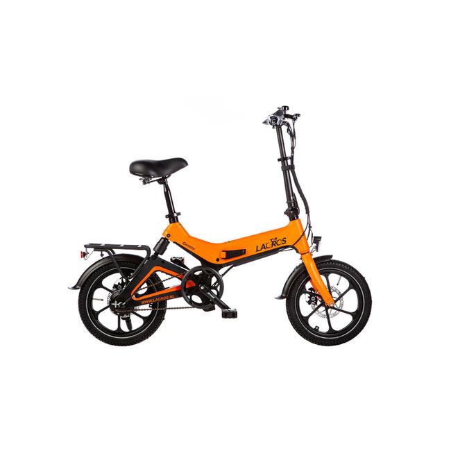 Electric folding bike Lacros Gemini G400 - Matt Orange