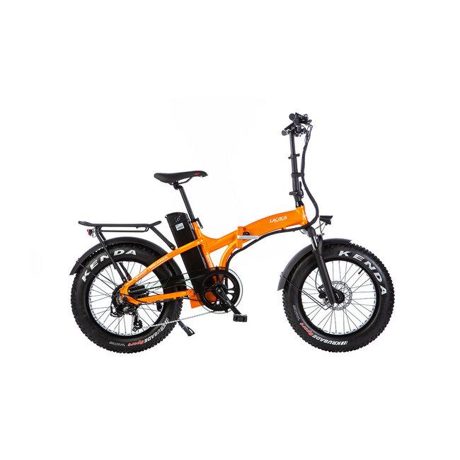 Elektrische vouwfiets Lacros Mustang M500 S4 Fat bike - Mat Oranje