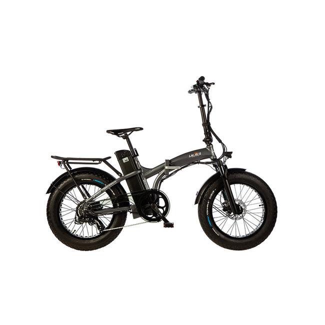 Elektrische vouwfiets Lacros Mustang M500 S4 Fat Bike - Matgrijs
