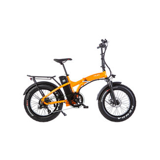 Mustang M250 Fat Bike Orange Mat