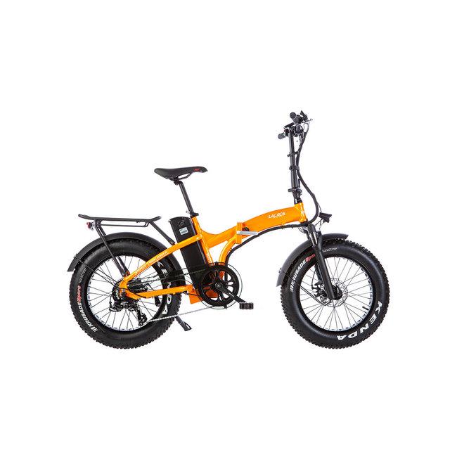 Electric folding bike Lacros Mustang M250 Fat Bike - Matt Orange