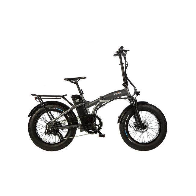 Electric folding bike Lacros Mustang M250 Fat Bike - Matt Gray