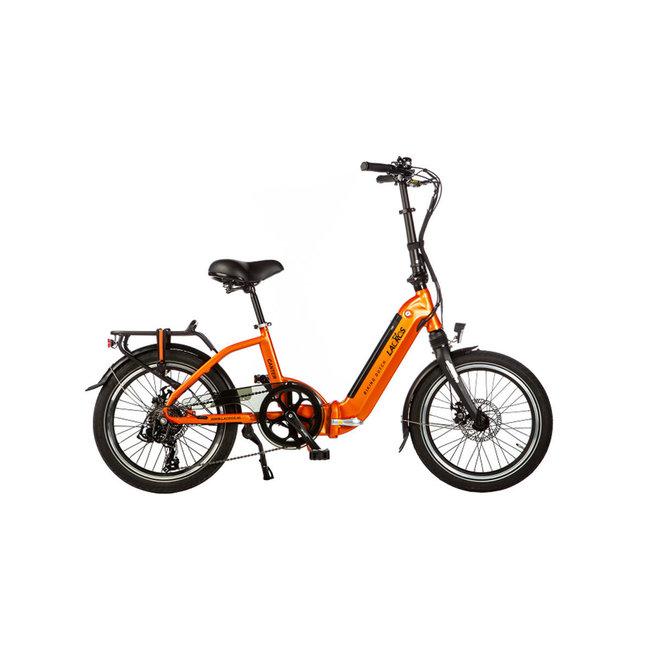 Electric folding bike Lacros Canter C200 - Matt Orange